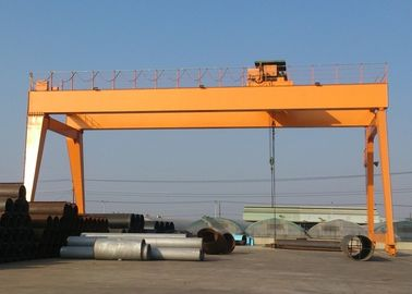 Good Quality Travelling Overhead Crane & Double Girder Gantry Crane With Heavy Duty Open Winch Trolley Hoist GB / JB Standard on sale