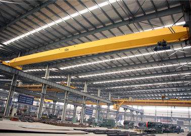 Good Quality Travelling Overhead Crane & Single Girder Overhead Crane With Electric Hoist , Workshop Electric Bridge Crane on sale