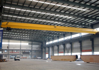 LD Single Girder Eot Crane 1-32 Ton , Industrial Bridge Cranes For Factory / Stockyard