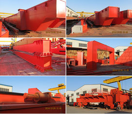 Double Girder Overhead Crane For Loading And Unloading Raw Material In Workshop