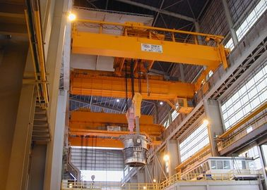 Customized Double Girder EOT Crane With Heavy Duty Open Winch Trolley Hoist