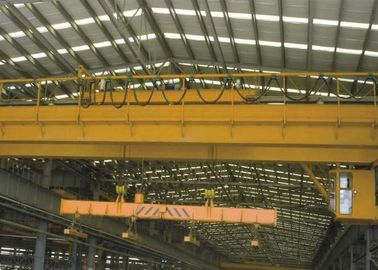 Electric Traveling Overhead Crane Bridge Crane with Carrier Beam Spreader Clamp for Sale