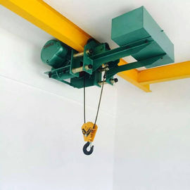 5 T Low Headroom Electric Cable Hoist Single / Double Speed Simple Operation