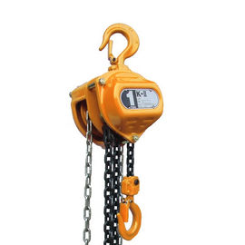 No Spark Stainless Steel Manual Chain Hoist , Anti Rust 10T Manual Chain Block