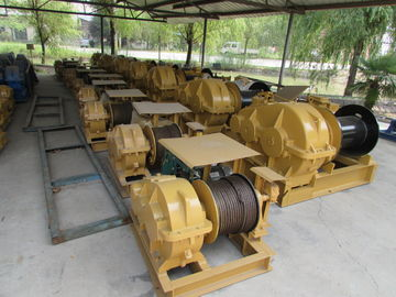 Vertical Lifting Industrial Electric Winch , 10 Ton Marine Electric Winch