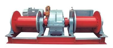 Customized Heavy Duty Electric Winch 10T 20T 30T Single / Double Drum Good Stability