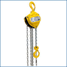 No Breaking 10 Ton Manual Chain Hoist Good Impact Resistance Long Service Life