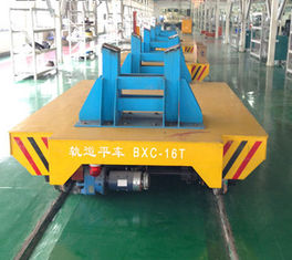Heavy Industry Cargo Electric Rail Transfer Trolley Strong Bearing Capacity