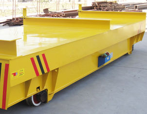 Smelter Motorised Trolleys Carts 100 Ton Stable Start Small Impact Long Service Life