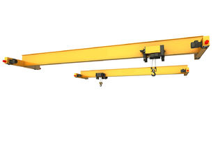 China 5 Ton Single Beam Bridge Crane Radio Remote Control Oem / Odm Available supplier
