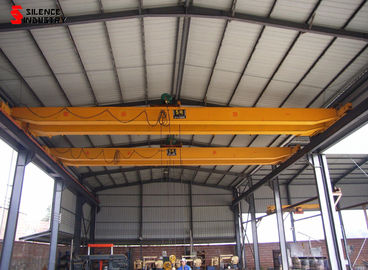 Indoor 10T Double Girder Bridge Crane Electric Hoist Trolley Energy Saving