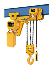 China 7.5 Ton Low Headroom Trolley Hoist 6.6m/min High Efficiency Long Working Life supplier