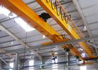 China 50 Ton EOT Double Girder Overhead Crane Heavy Lifting Equipment With Electric Hoist factory