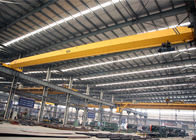 China Single Girder Overhead Crane With Electric Hoist , Workshop Electric Bridge Crane factory