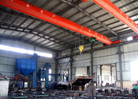 China Industrial Workshop Single Beam Overhead Crane , Electric Overhead Travelling Crane factory
