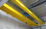 China LH Model Double Girder Travelling Overhead Crane EOT Crane with Electric Hoist Trolley factory
