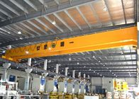 Double Girder Bridge Crane With Electric Hoist Trolley , LH Workstation Bridge Crane