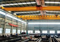 China Single Beam Travelling Overhead Crane , Low Headroom Bridge Crane With End Carriages factory