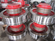 Carbon Steel Overhead Crane Wheels High Hardness Good Wear Resistance