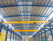 Span 6.4m Overhead Travelling Crane , 2 Ton Safe Single Beam Bridge Crane