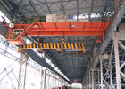 Smooth Operation Electromagnetic Overhead Crane Lifting Heavy Objects