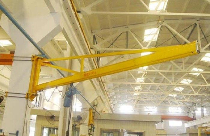 0 5 2 Ton Wall Mounted Slewing Jib Crane For Machine