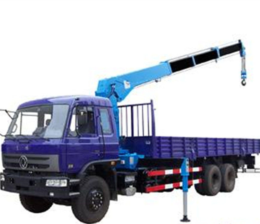 Telescopic Slewing Crane : Hydraulic truck mounted telescopic boom crane with aerial
