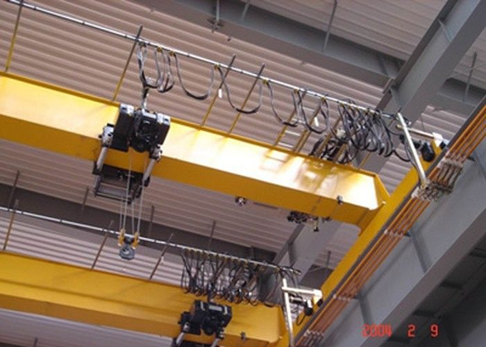 European Style Single Girder Overhead Crane With Monorail Hoist International Standard