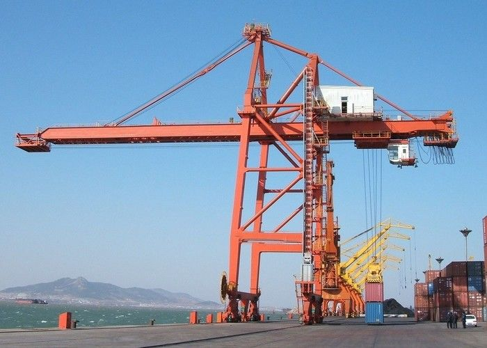 Quayside Ship To Shore Port Container Crane 50 Ton With Ce