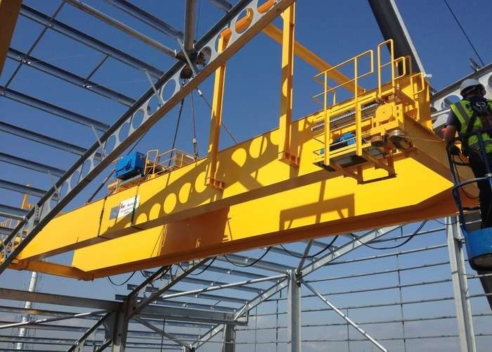 CE ISO Certificated Electric Top Running Double Girder Overhead
