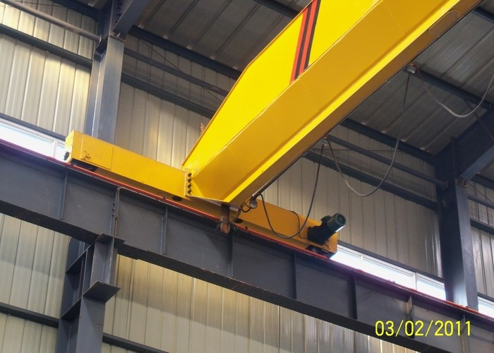 Safety Electric 10 Ton Single Girder Overhead Travelling