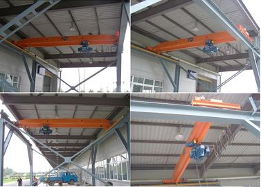 20 Ton Single Girder Overhead Crane EOT Crane For Plants / Warehouses