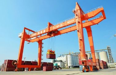 RMG / RTG Container Gantry Crane For Rail Station , Harbour, Port  ISO CE Certificated