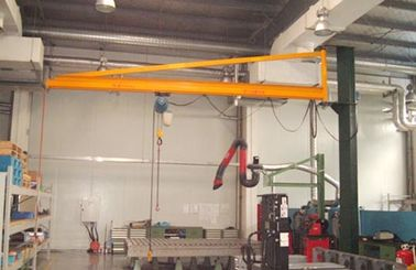 Wall Mounted Jib Crane with 180 Degree Rotation Cantilever for Workshop handling and Lifting