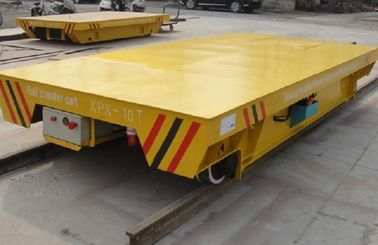 Battery Powered On Rail Transfer Cart Trolley Heavy Duty 10 Ton To 300 Ton