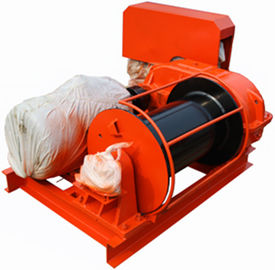 Low Noise Light Duty Small Electric Winch With Electromagnetic Brake