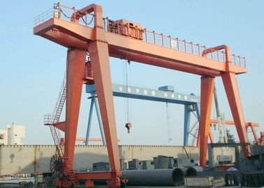 MG Double Girder Industrial Gantry Crane Lifting Equipment For Container Shipyard