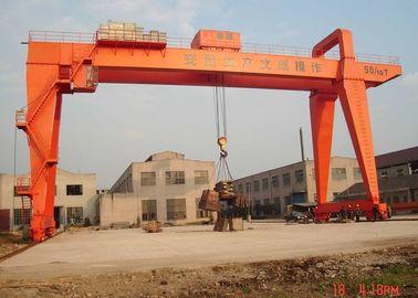 100 Ton A Frame Double Girder Gantry Crane Heavy Duty For Big Tonnage Port