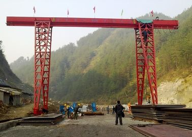 Electric Single Girder Gantry Crane , 20 Ton A Frame Lifting Gantry Equipment