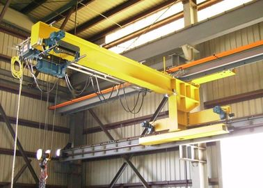 Slewing Arm Wall Traveling Jib Crane For Machine Manufacturing And Assembling