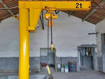 China Light Weight Column Mounted Jib Crane Hydraulic Mobile 10 Ton Overload Protection factory