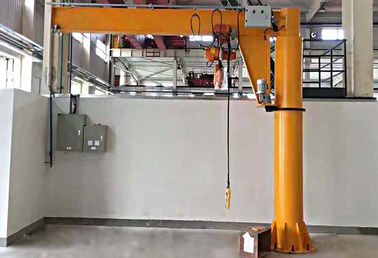 China Workshop Floor Mounted Jib Crane 3 Ton Rated Loading Capacity 8m/min Lifting Speed distributor