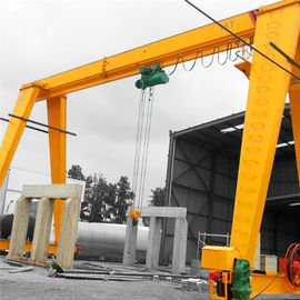 China Single Girder 5 Ton Gantry Crane High Efficiency Safety For Steel Handling factory