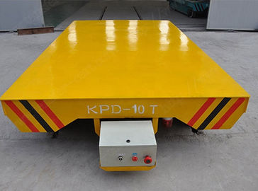 China Platform Structure Electric Transfer Cart 0-30 m/min Adjustable Running Speed distributor