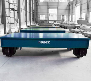 China Indoor Outdoor Battery Transfer Cart On Rails Large Table 2T - 500T Load Capacity factory