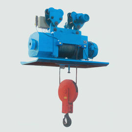 China Steel Mill Electric Trolley Hoist High Safety Interchangeable Components factory