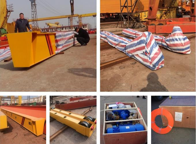 2015 hot sale electric single girder overhead crane