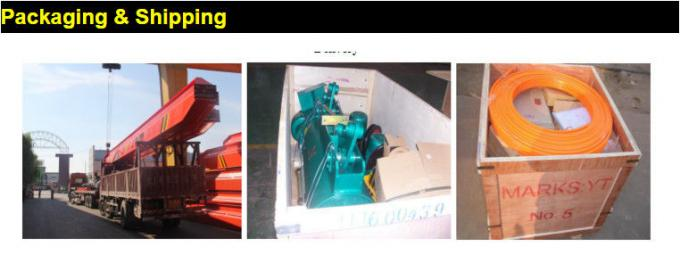 220V~380V Customized Electric Wire Rope Hoist / Electric Lifting Hoist Low Headroom