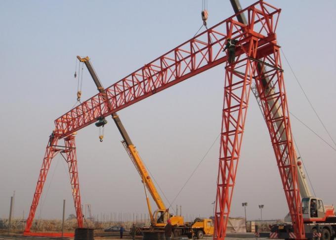 20 Ton Single Girder Gantry Crane Truss Structure A