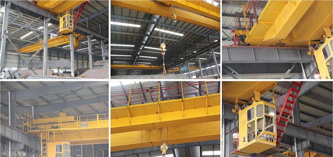 50 Ton LH Double Girder Overhead Crane Bridge Crane Safety